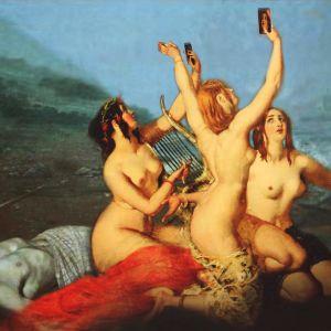 Alastomat seireenit ottavat itsestään selfieitä