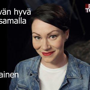 Ex-peliriippuvainen Jenna Mäkelän Maarit Tastulan vieraana.