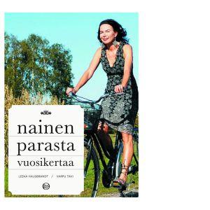 Leena Taavitsainen-Petäjä kirjan Nainen parasta vuosikertaa kannessa v. 2005.