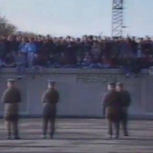 Berliinin muuri marraskuussa 1989