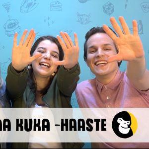 Galaxin juontajat Sara Maaria, Jasmin ja Valtteri