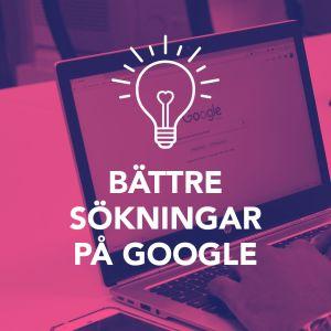 Digiträning om sökningar på Google