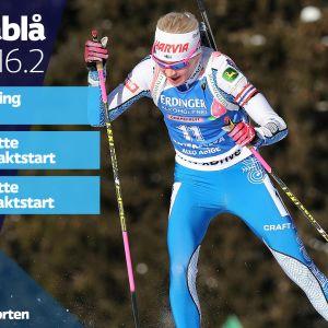 programtablå för dagens sport på svenska