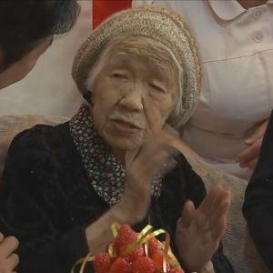 Kane Tanaka 116 år - världens äldsta människa 9.3.2019.