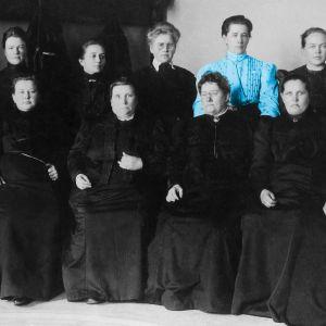 Suomen ensimmäiset naiskansanedustajat.