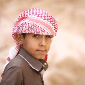 Egyptiläinen poika Siinailla.