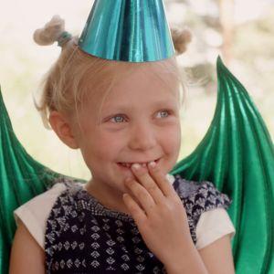 Vilda på födelsedagskalas