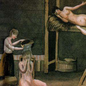 Saunojia maalauksessa