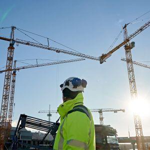 rakennustyömaa