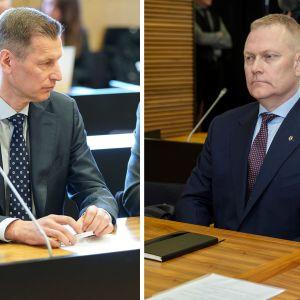 Sampo Eskelinen och Markus Päiviö.
