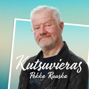 Kutsuvieras-ohjelman kuva Pekka Ruuskasta.