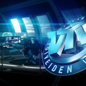 Ohjelman logo ja Valtteri Lehtinen