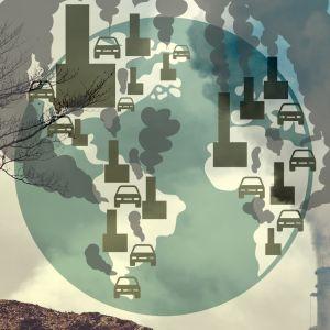 Pääkuva juttuun - päästölähteitä