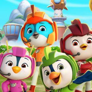 animaatiosarjan Ässäluokka linnut