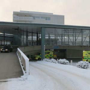 Lapin keskussairaala marraskuussa 2019