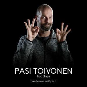 Perjantain tuottaja Pasi Toivonen.