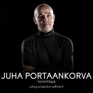 Perjantain toimittaja Juha Portaankorva.