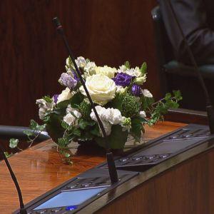 Blommor i riksdagen