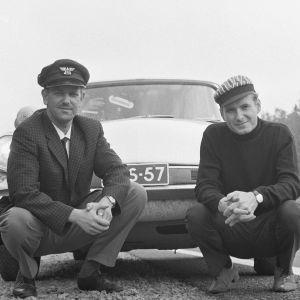 Reino Paasilinna ja Pekka Calonius