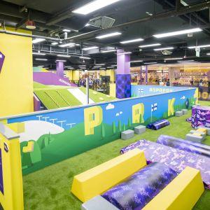 Singaporessa sijaitseva SuperPark-aktiviteettipuisto.