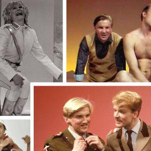 Velipuolikuu viihdytti suomalaisia 1980-luvun alussa.