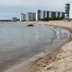 Aurinkolahden uimaranta Vuosaaressa Helsingissä