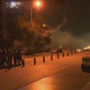 Protester i Beirut