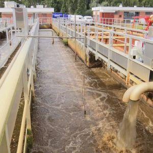 Paroisten jätevedenpuhdistamo Hämeenlinnassa
