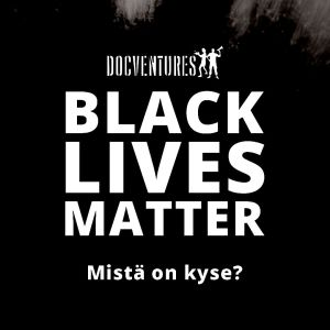 Black Lives Matter -kuvitus