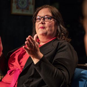 Minerva Krohn Docventuresin studiossa