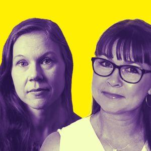 Sanna Oinas ja Anne-Mari Kuusimäki