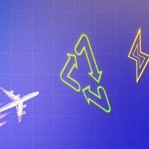 Lentoliikenteen tulevaisuudessa siintävät biopolttoaineet, sähkölentokoneet ja sähköllä tuotetut polttoaineet.
