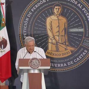 Mexikos president Andrés Manuel López Obrador