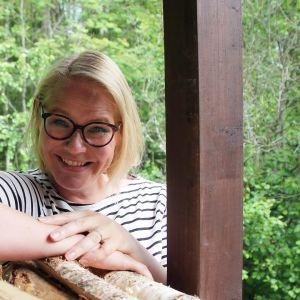 Kainuun Sanomien päätoimittaja Leena Hirvonen*