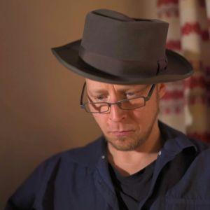 Torbjörn Anderssén i hatt