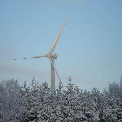 Vindkraftverk i Fränsviken, Larsmo