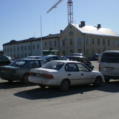 Torgparkering i Jakobstad