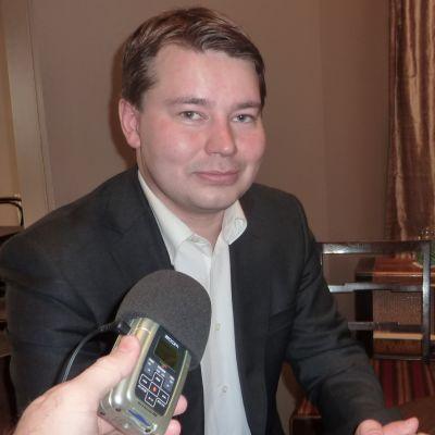 Janne Laakkonen var den Samlingspartist som fick flest röster i kommunalvalet i Lojo 2012.