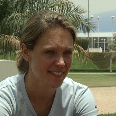 Pia Sundstedt i Qatar