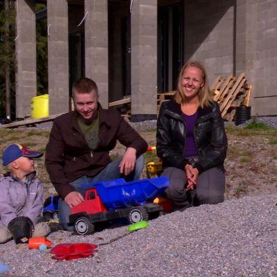 Familjen Mickelsson/Kaas i Malax