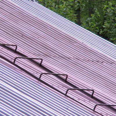 Detalj från huset i Strömfors.