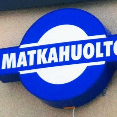 Matkahuollon logo.