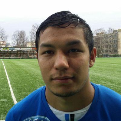 Mostangh Yaghoubi Rovaniemen Keskuskentällä viimeistä kertaa.