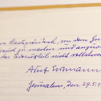 Adolf Eichmannin armonanomukseen liittyviä asiakirjoja julkistettiin Israelissa