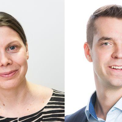 Mari Kokko ja Jouni Ovaska.
