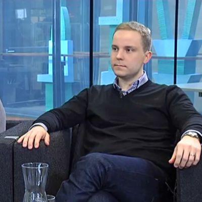 Susanna Huovinen ja Petri Honkonen.