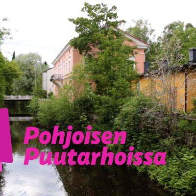 Jokimaisema Oulun Hupisaarilta