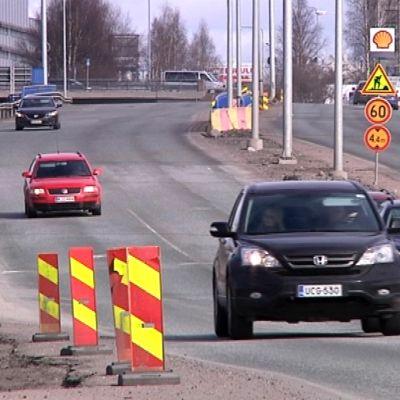 Nelostien remontti jatkuu Rovaniemellä