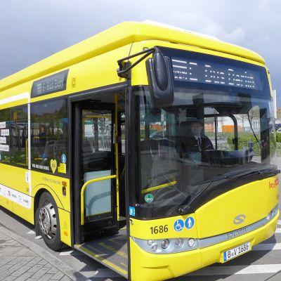 Berliinin kaupungin liikennelaitos BVG on hankkinut neljä sähköbussia.
