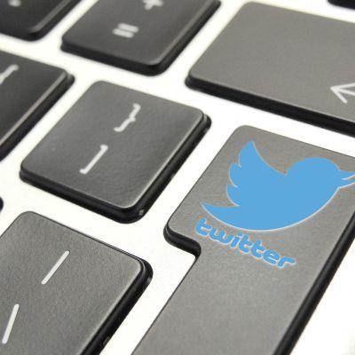 Näppäimistö, Twitter logo
